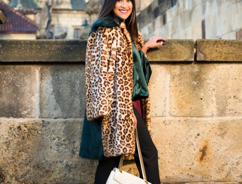 Leopard Print in Prague