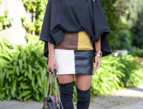 Chic Sweatshirt or Poncho?