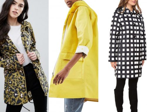 Wish List Wednesday: 6 Fashionable Rain Coats