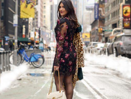 Lady Gaga Dress in New York City