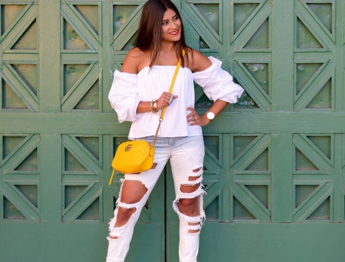 Ombre Jeans and Summer Brights