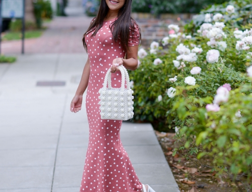 1950s Throwback: The Polka Dot Dress