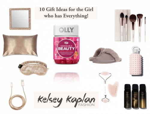10 Gift Ideas for the Girl who has Everything