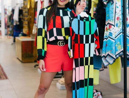 Alice + Olivia x Kelsey Kaplan Fashion