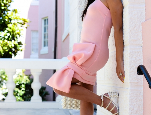 Wrapped in a Little Pink Bow Dress