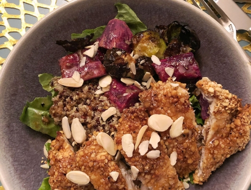 Foodie Friday: Air Fried Chicken Quinoa Bowls
