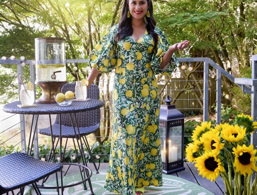 When Life Gives you Lemons, Wear a Lemon Print Dress